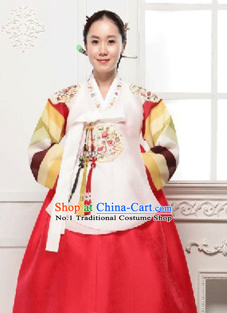 Top Korean Custom Made Dangui Hanbok Dance Costumes for Women