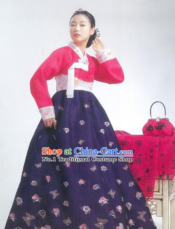 4c6595783 Top Korean Folk Dress online Traditional Costumes National Costumes for  Girls