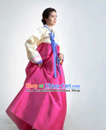 Korean Female National Costumes Asian Top Dress online