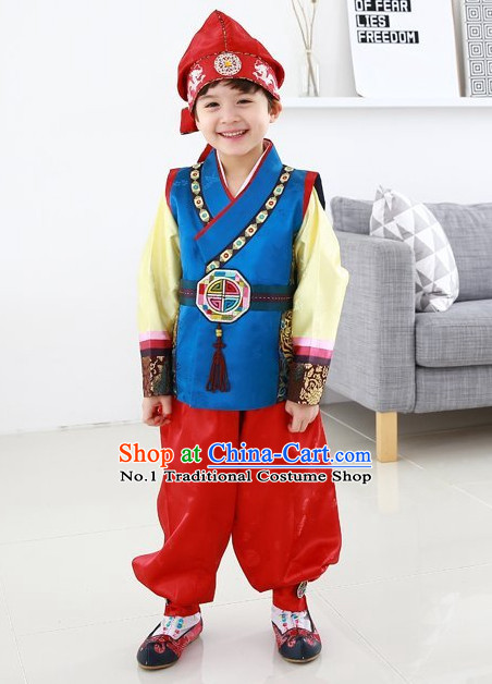 Korean Traditional Hanbok Clothing Dresses Kids Fashion Korean Boys Clothes