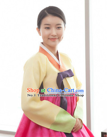 Korean Traditional Hanbok Wife Clothing