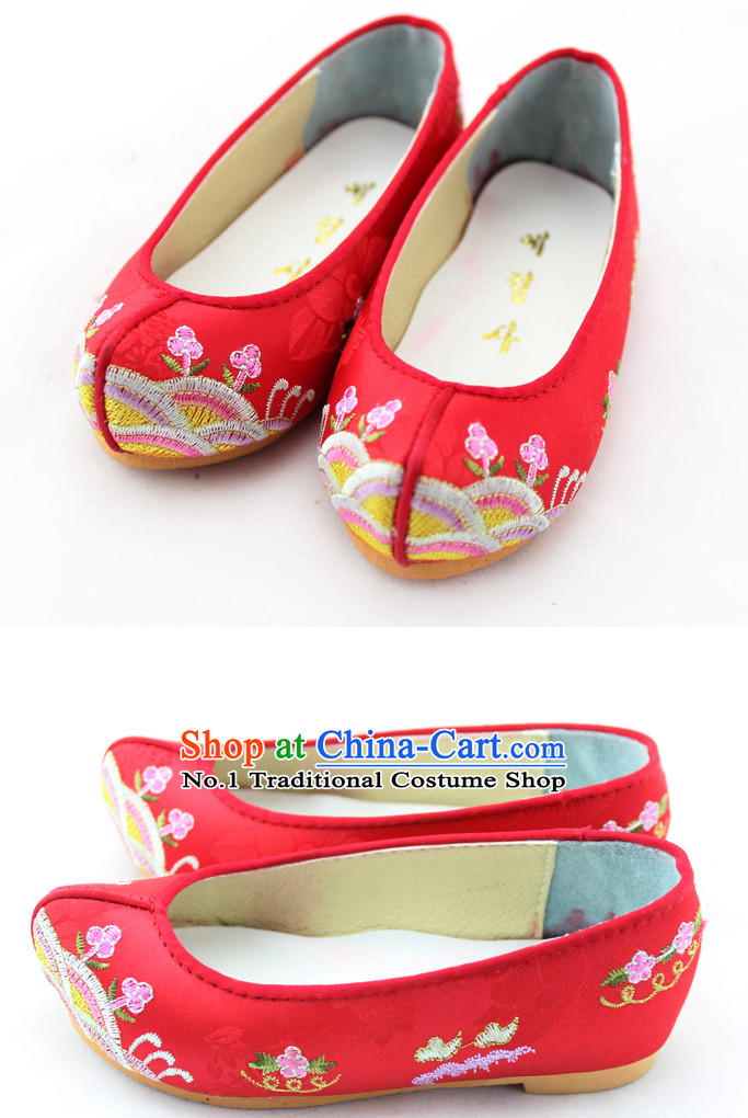 Korean Traditional Birthday Hanbok Shoes for Girls