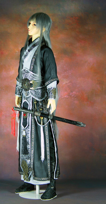 Ancient Chinese Costumes for Superheroes and Swordsmen