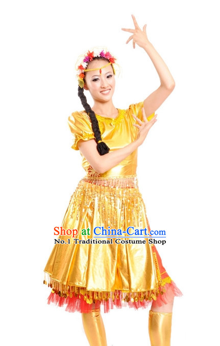 Ethnic China Nationality Group Costumes for Women