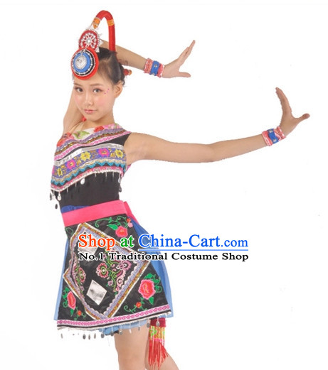 China Shop Chinese Dance Costumes Dancewear Complete Set for Women