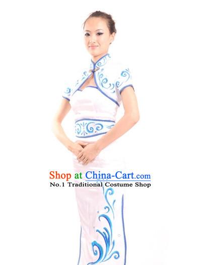 16b045f0c China Shop Chinese Fan Dance Costumes Girl Dancewear for Women