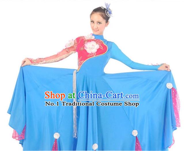 China Costumes Ballerina Costume Burlesque Costumes Salsa Costumes  sc 1 st  China-Cart & Ancient Chinese Clothing China Dance Costumes Traditional Hanfu ...