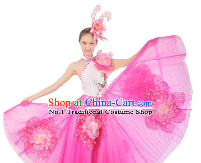 China Dance Costumes Ballerina Costume Burlesque Costumes Salsa Costumes
