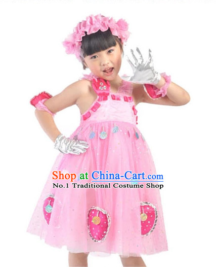 Custom Made Kid Dancing Costume Ballerina Costume Burlesque Costumes Salsa Costumes