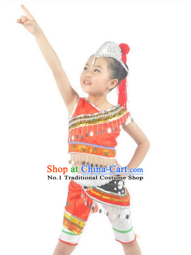 Custom Made Asian Kids Costume Ballerina Costume Burlesque Costumes Salsa Costumes