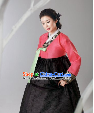 Traditional Korean Female Hanbok Outfits Complete Set