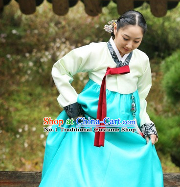 Korean Classical Hanbok online Fashion Store Apparel Tops Korean Women Fashion Complete Set