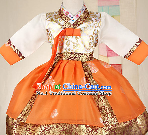 Korean Fashion Traditional Hanbok Clothes for Kids