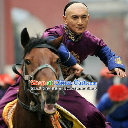 Qing Dynasty Prince Costumes Complete Set for Men