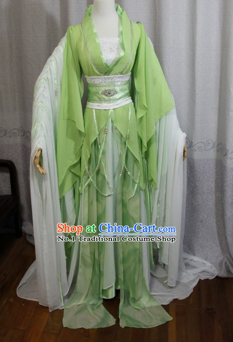 Chinese Costumes Traditional Clothing China Shop Green Fairy Costumes