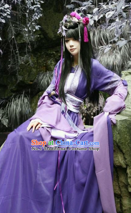 Chinese Costumes Traditional Clothing China Shop Princess Cosplay Halloween Costumes
