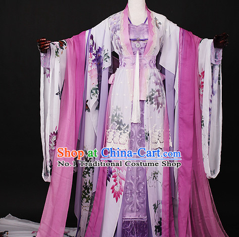 Chinese Empress Female Hanfu Cosplay Halloween Costumes Carnival Costumes