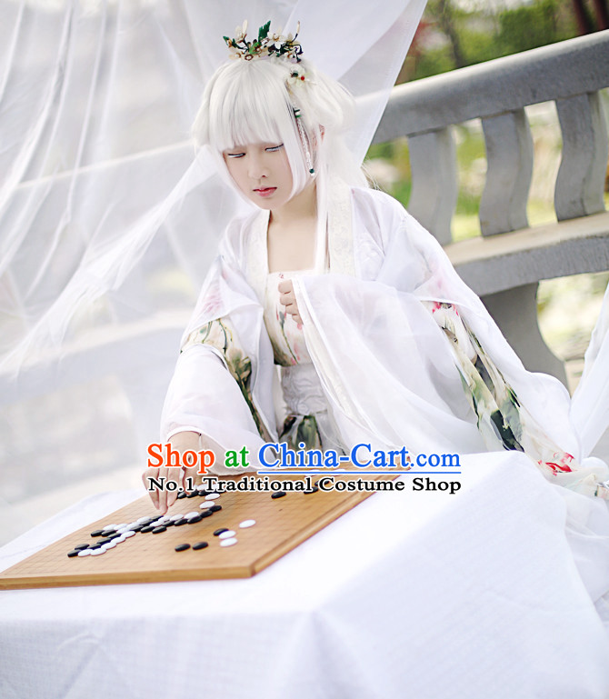 Chinese Fairy Hanfu Cosplay Halloween Costumes Carnival Costumes for Women