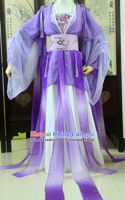 Chinese Fairy Costume Asian Fashion China Civilization Medieval Costumes Carnival Costume
