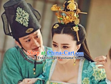 Chinese Traditional Empress Hair Accessories and Jewelry