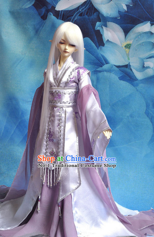 Asian Fashion Chinese Childe Hanfu Costumes Complete Set for Men