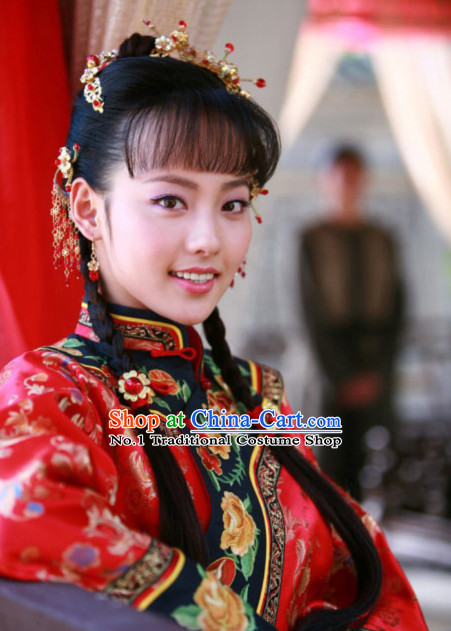 Chinese Traditional Bridal Hair Accessories