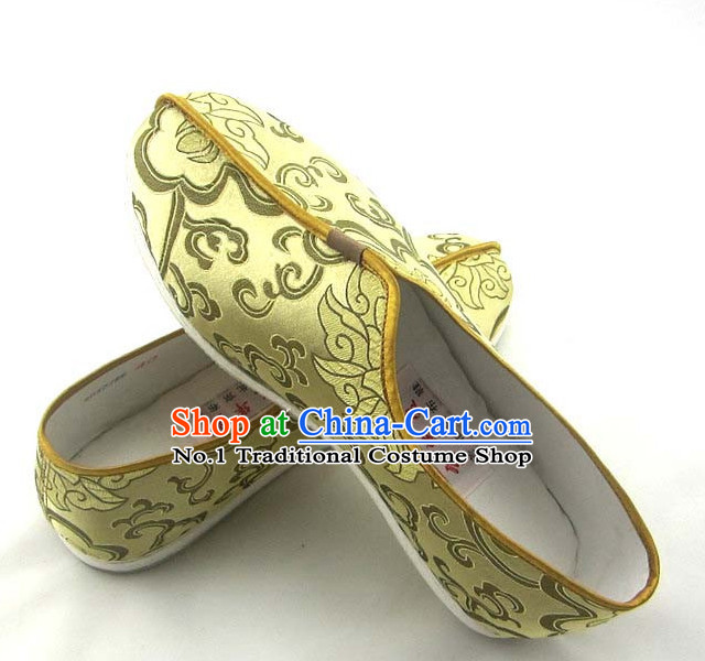 Handmade Chinese Traditional Fabric Shoes Footwear