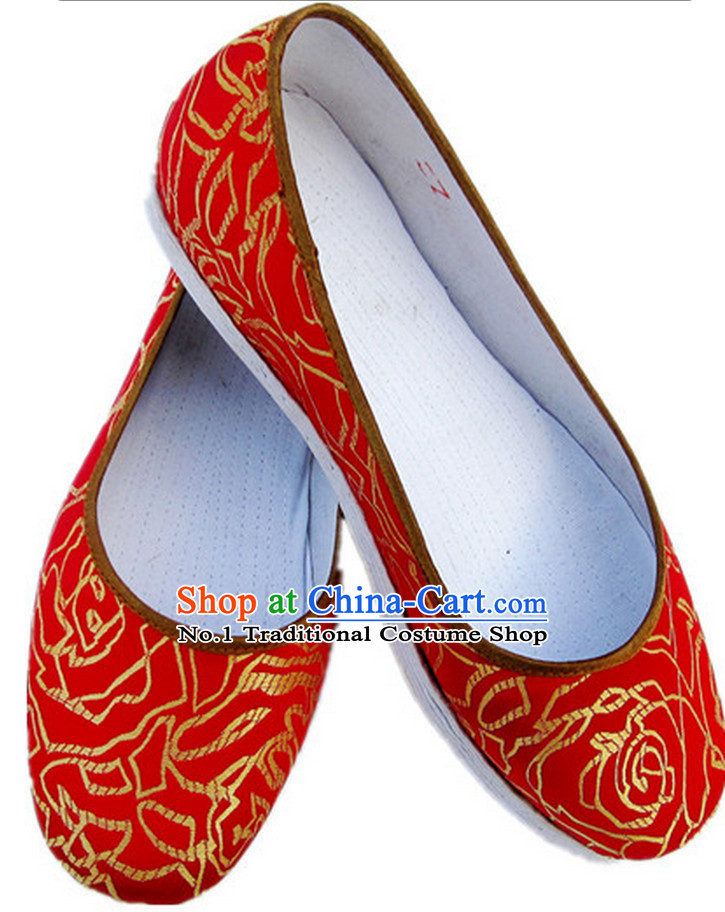 c3596f311 Handmade Chinese Traditional Wedding Shoes online Shopping Footwear