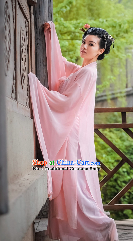 Asian Fashion Oriental Dresses Chinese Hanfu Plus Size Classy Outfits Complete Set