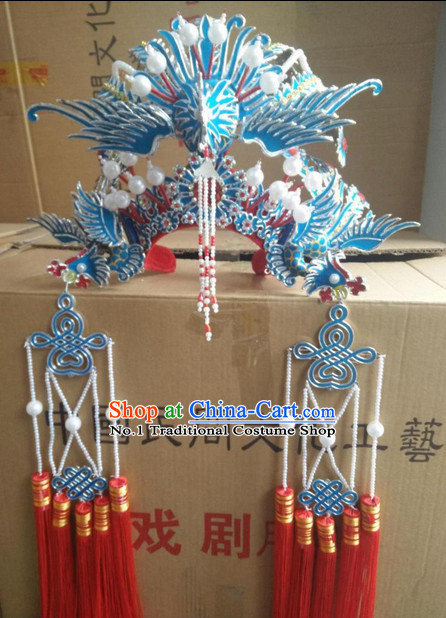 Oriental China Stage Performance Princess Phoenix Hat Headwear