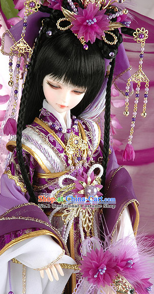 Chinese Imperial Royal Princess Hair Jewelry Set