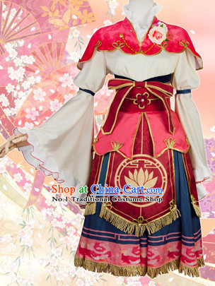 Asian Chinese Fashion Princess Plus Size Custom Made Halloween Costumes Cosplay Costumes