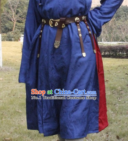 Chinese Traditional Tang Dynasty Dress Hanfu Long Belt Decorations