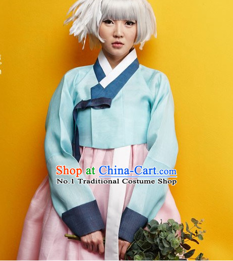 Korean Traditional Hanbok Formal Dresses Special Occasion Dresses for Women