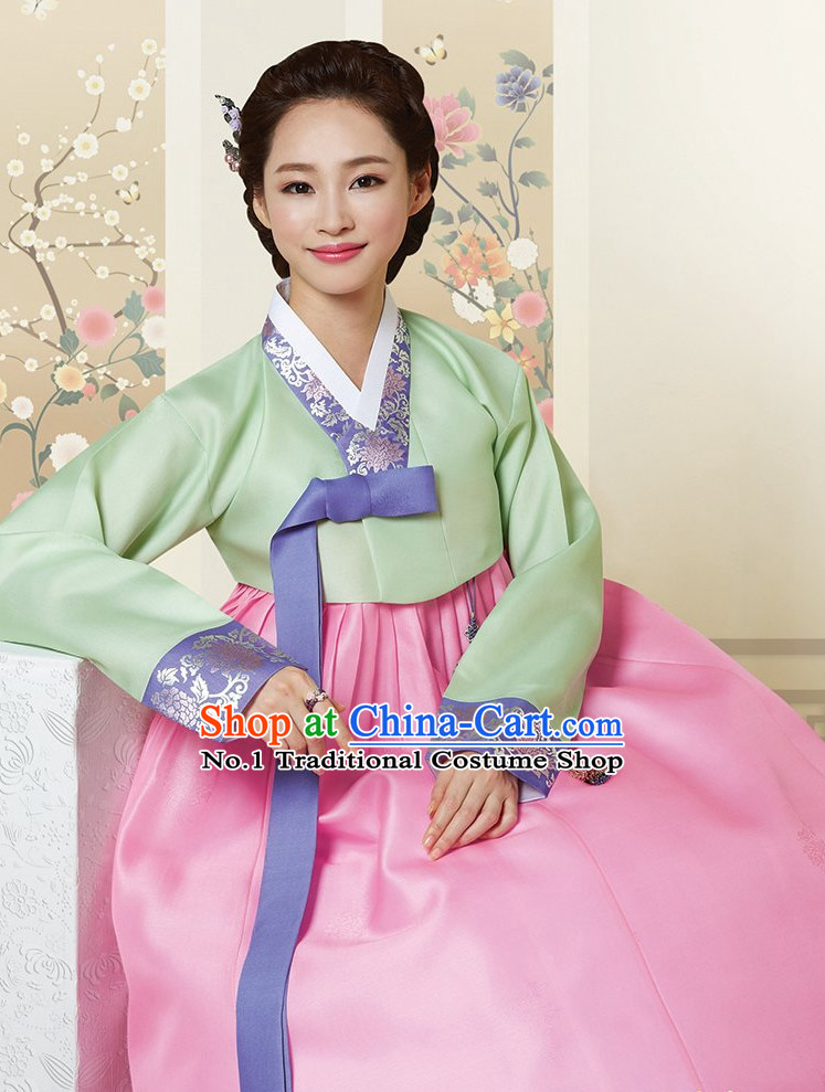 Korean Traditional Dress Hanbok Formal Dresses Special Occasion