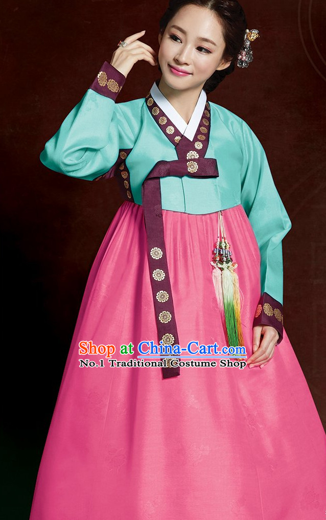 Korean Traditional Dress Hanbok Formal Dresses Special Occasion For Women