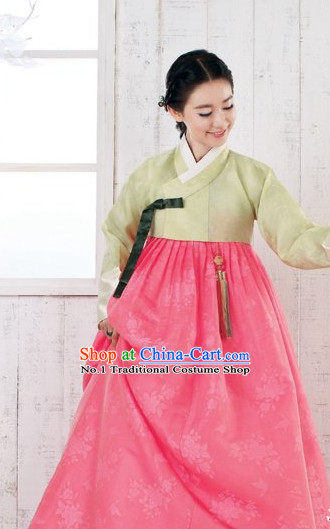 Korean Traditional Dress Hanbok Formal Dresses Special Occasion Dresses for Women