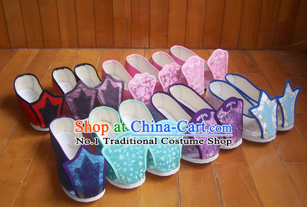 Chinese Traditional Clothing Fabric Shoes