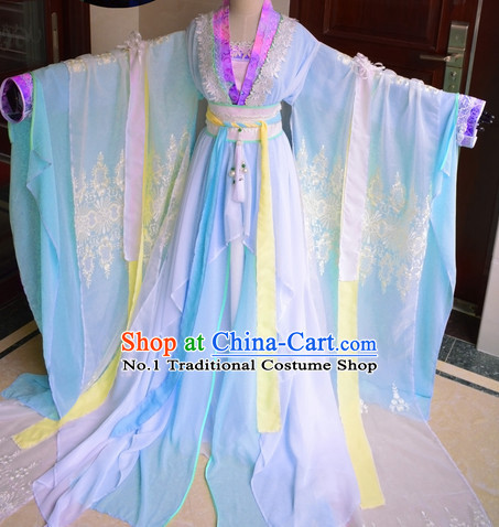 Chinese Traditional Princess Dresses Complete Set