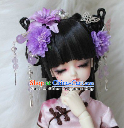 Asia Fashion Chinese Ancient Princess Hair Accessories Headbands Hair Jewelry