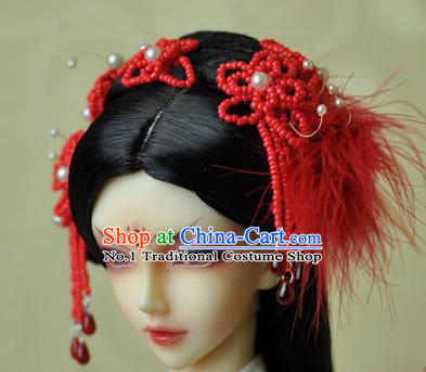 Asia Fashion Chinese Ancient Wedding Bridal Hair Accessories