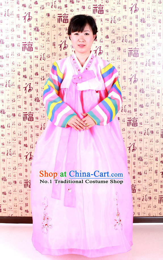 Korean Traditional Dance Costumes Complete Set