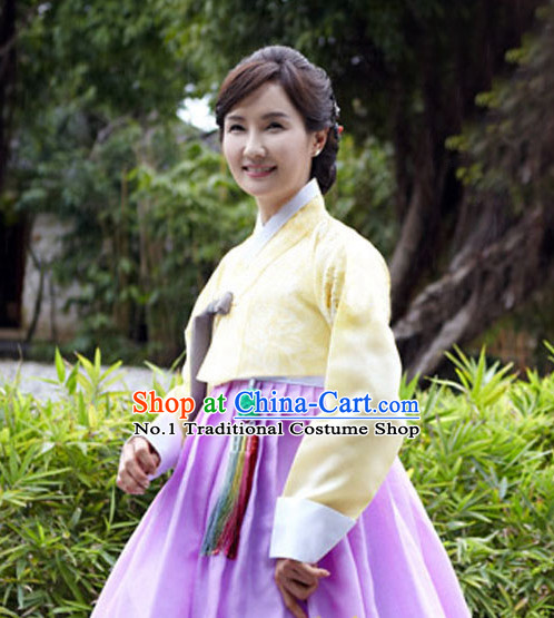 Korean Traditional Clothing Plus Size Clothing Fashion Clothes Complete Set for Women