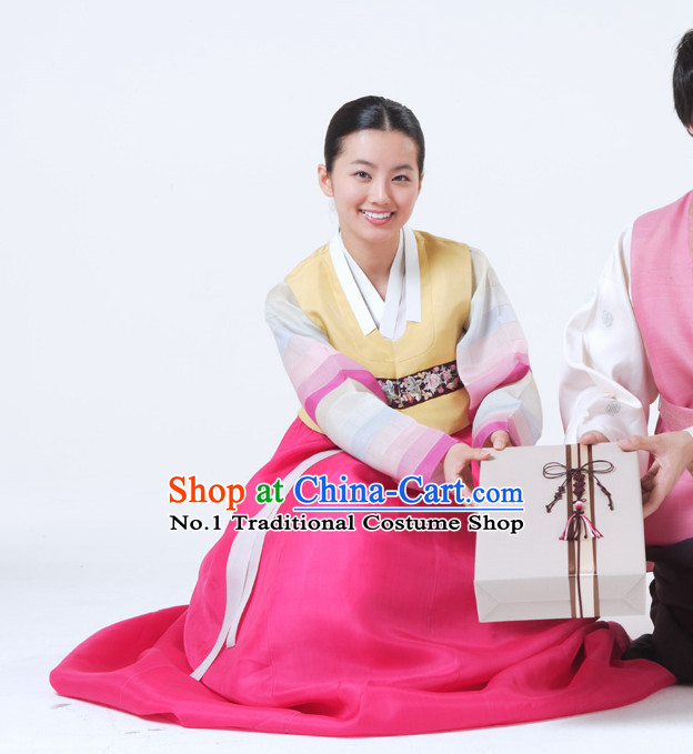 Korean National Dress Costumes Traditional Costumes for Lady