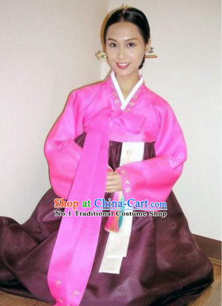 Korean National Costumes Traditional Costumes Korean Style Fashion