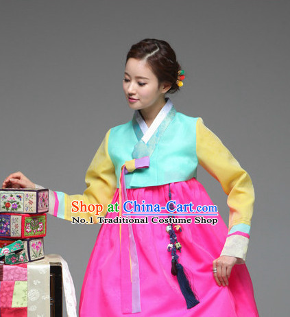 Korean Woman National Costumes Traditional Costumes Hanbok Korea online Shopping