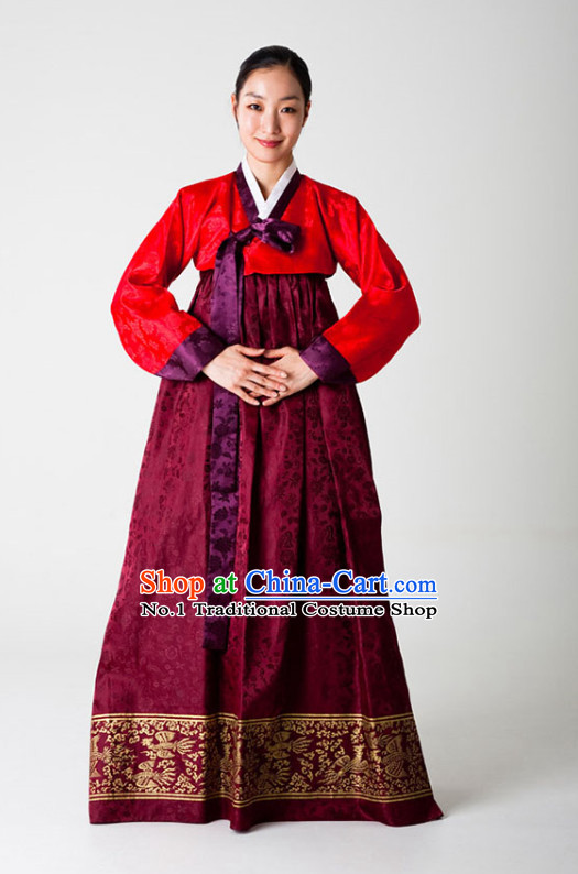 Korean Dancer National Costumes Traditional Costumes Hanbok Korea Dresses online Shopping