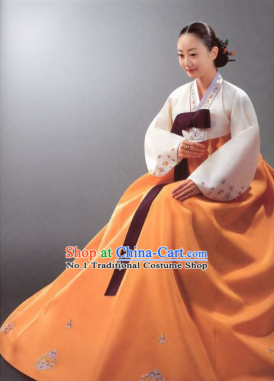 Korean Woman National Costumes Traditional Costumes Hanbok Korea Dresses online Shopping