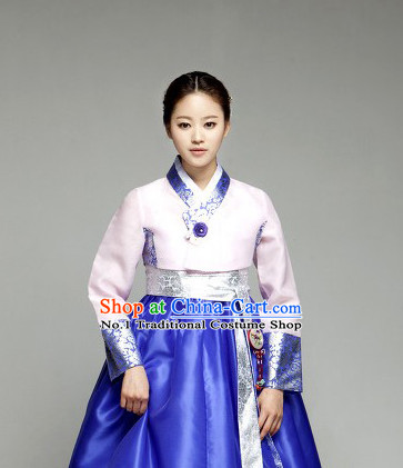 Korean Traditional Ceremonial Clothing Complete Set for Women