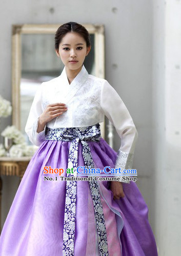 Korean Traditional Ceremonial Suit Complete Set for Women